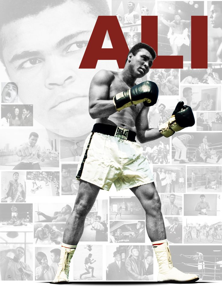 Muhammad Ali #BlackHistoryMonth Tribute Design (2/17/11)