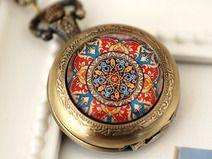 """"""" Mandala Marrakesch"""" Uhrenkette"""