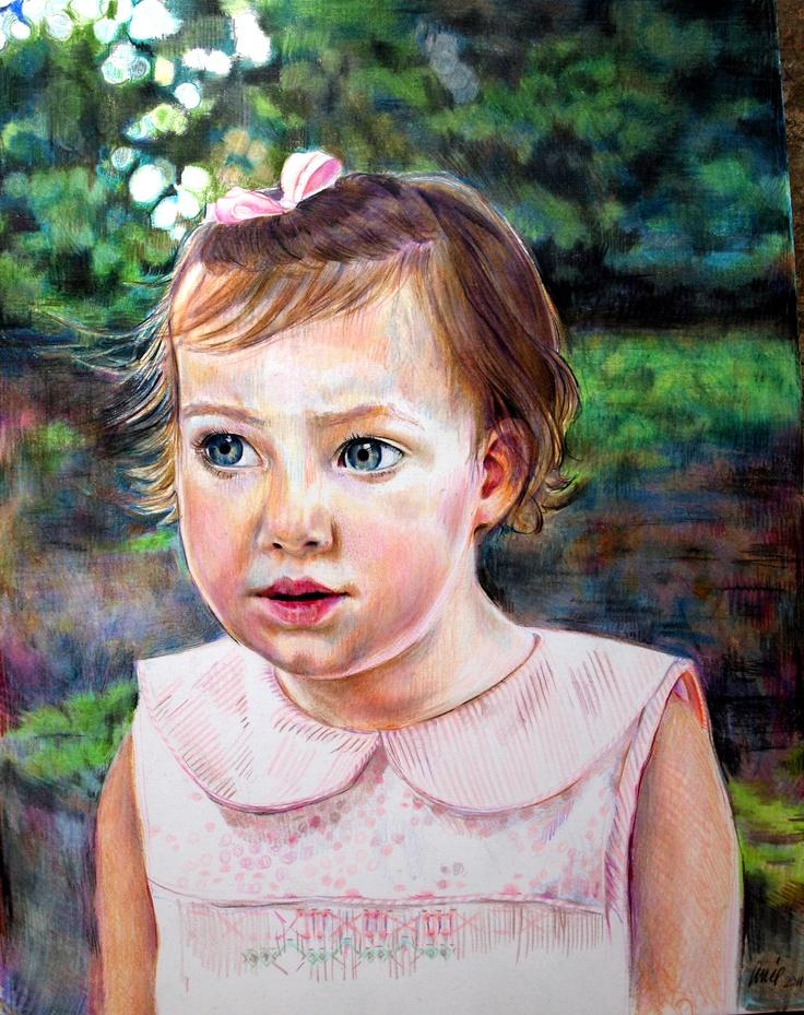 Annie Flynn. Portrait of Mary Wyatt, age 2