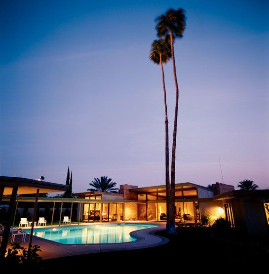 Palm springs style interiors images frank sinatra 39 s for Twin palms estates palm springs