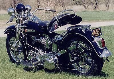 1948 Harley-Davidson Panhead  My Dad owns one that my grandfather had bought brand new.  It's an awesome bike!