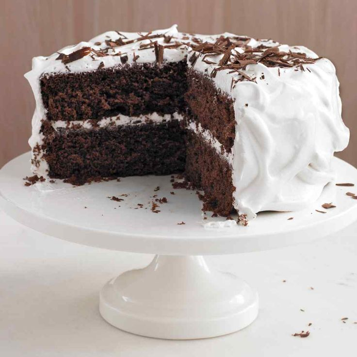 Chocolate Cake | Martha Stewart Living - Nothing will satisfy a chocolate craving better than one of these delicious chocolate cakes, from classic devil's food to molten, flourless, and ricotta-icebox varieties.