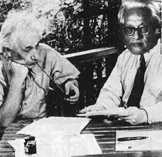 Einstein y Satyendra Nath Bose