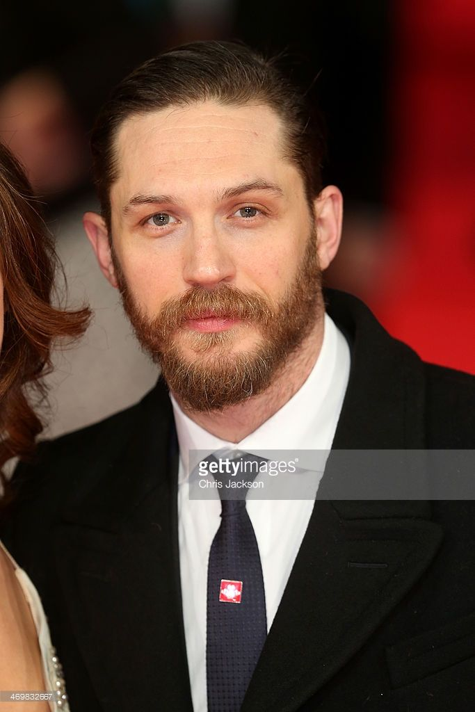 Actor Tom Hardy attends the EE British Academy Film Awards 2014 at The Royal Opera House on February 16, 2014 in London, England.