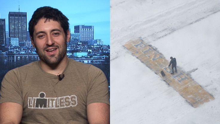 Meet the man who shoveled the Boston Marathon finish line