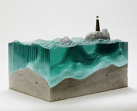 Glass Sculture - Ben Young