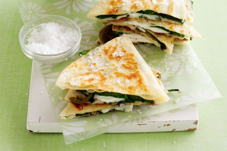 Create spicy Mexican quesadillas that will have your guests singing for more.
