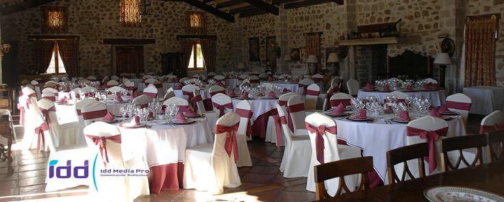 Cena en Aldea Santillana