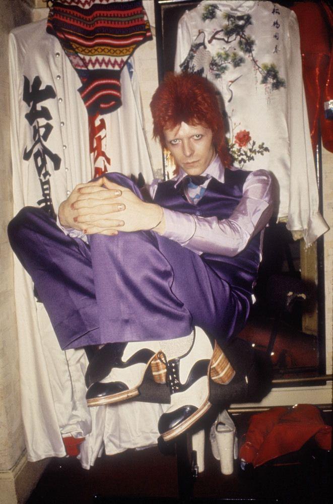 Fotografías de la vida secreta de músicos como David Bowie, Mick Jagger y más.