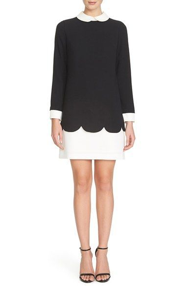 CeCe by Cynthia Steffe 'Jada' Collared Shift Dress / @nordstrom
