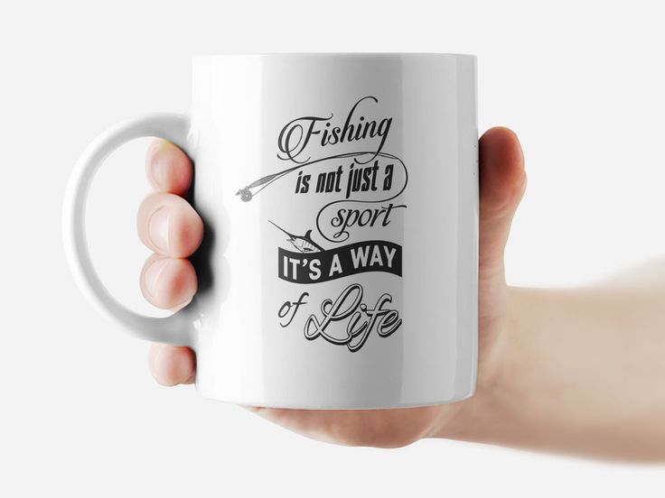 Fishing isn't just a sport Mug Funny Rude Quote Coffee Mug Cup Q273 #Handmade