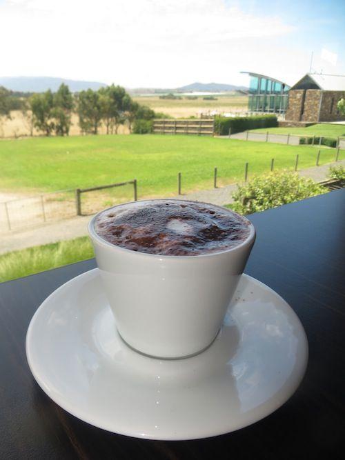 Hot Chocolate at Matt's Bar (Yering Station), Yarra Valley, Australia