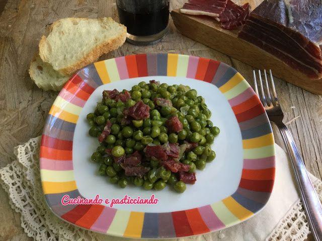 Cucinando e Pasticciando: Piselli al Prosciutto