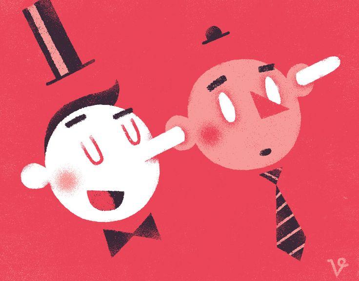 Portfolio of award winning illustrator Vigg