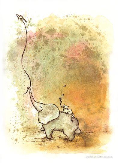 http://angiechanillustrations.com/images/portfolio/elephant-kite.png