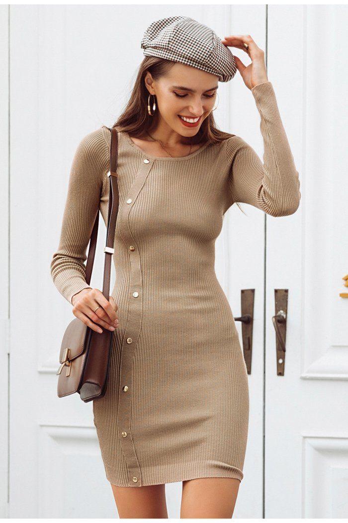 142c6e35b Primula Bodycon Knitted Mini Dress in 2019
