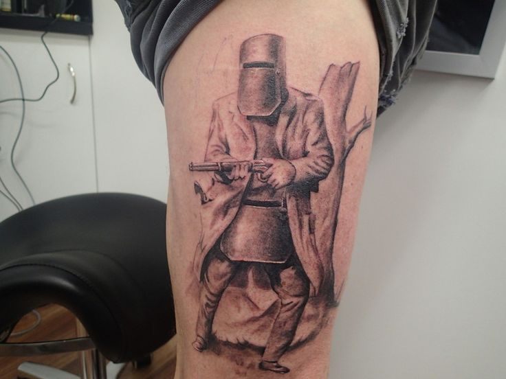 Ned Kelly portrait - more to come