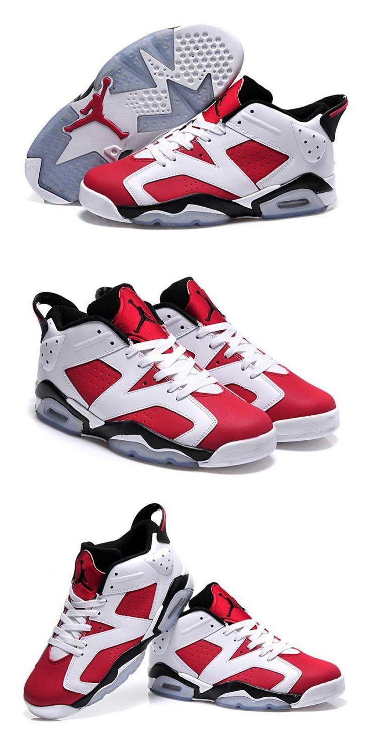 """2020 的 Air Jordan 6 Gs """"carmine"""" White/CarmineBlack 主题"""