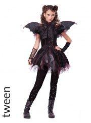Victorian Vampiress Tween Girls Costume