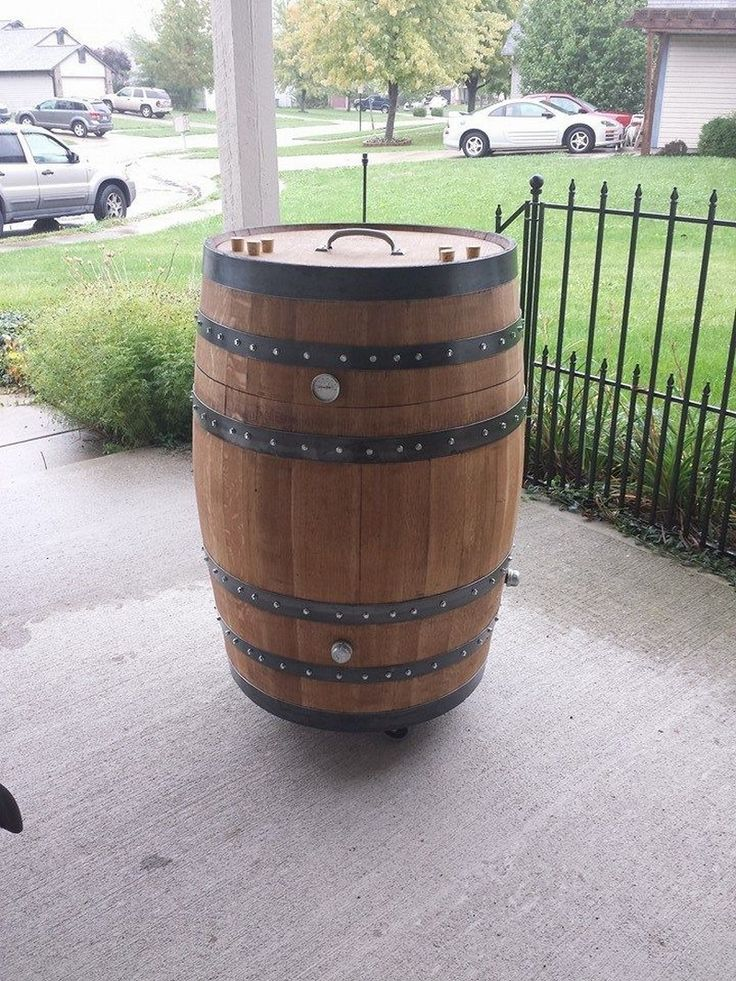 how to fix a rotted whiskey barrel