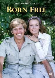 Diana Muldaur and Gary Collins in Born Free Television series