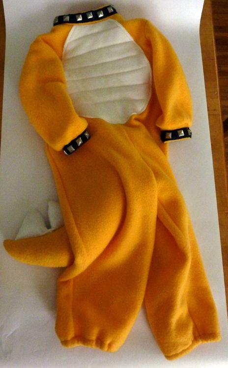 Bowser Costume, Pt. 1