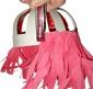 Perruque rose pour se déguiser, une perruque pour le carnaval