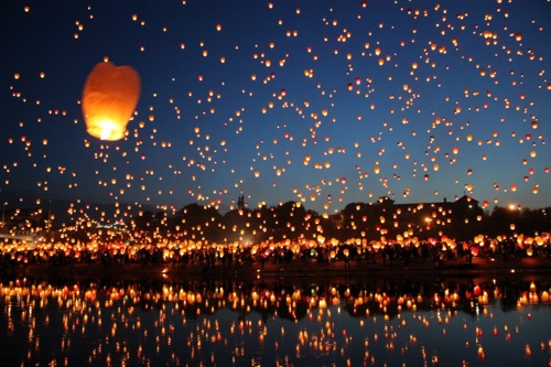 wishes: Bucketlist, Sky Lanterns, Floating Lanterns, Place, My Buckets Lists, Lanterns Festivals, Lantern Festival, Chine Lanterns, Bucket Lists
