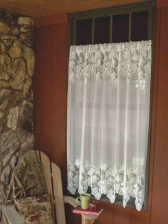 38 best Lace curtains images on Pinterest | Lace curtains ...