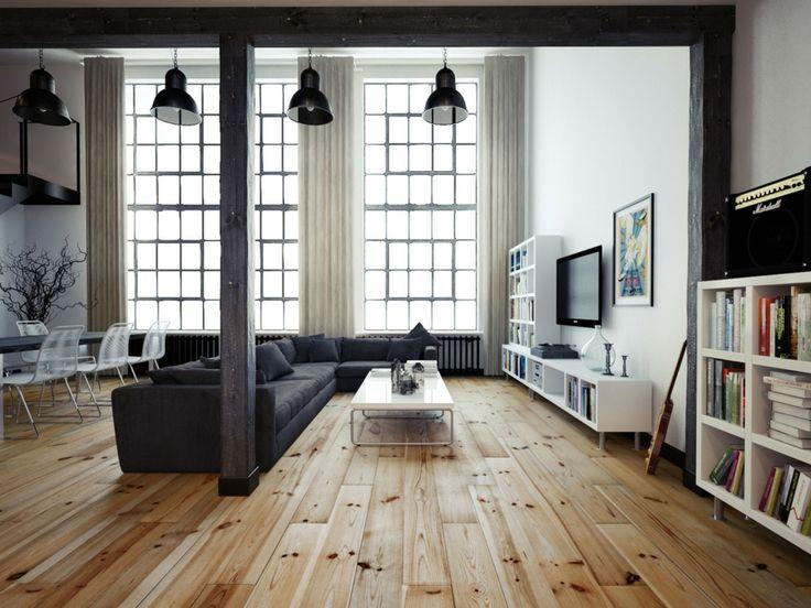 Eine Wohnzimmerlampe Im Industriellen Stil Kann Man In Verschiedenen Designs Und Farben Finden Sodass Jeder