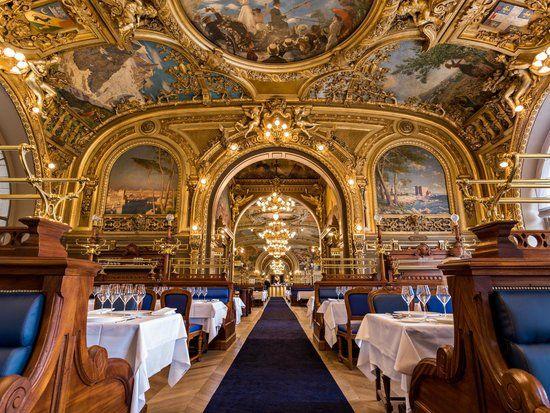 Le Train Bleu, restaurant gare de Lyon, 75012