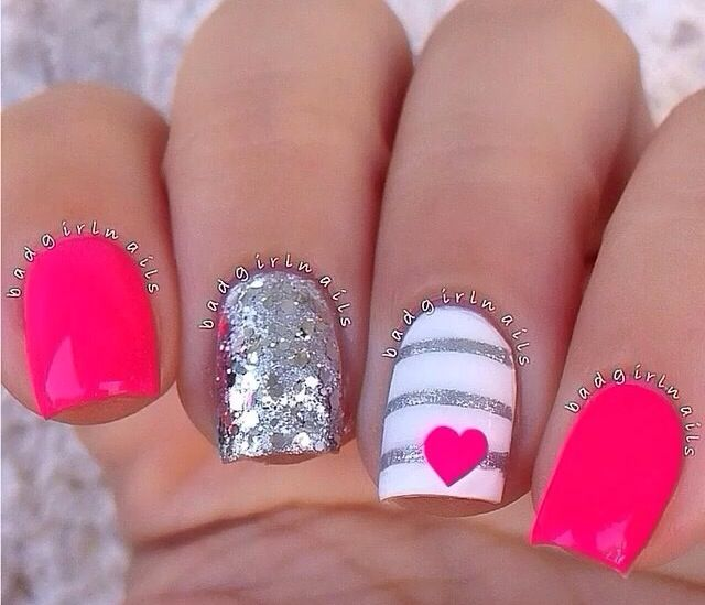@Badgirlnails super fun for summer nails
