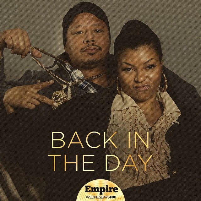 Empire(FOX): Cookie and Lucious Lyon (back in the day photo)
