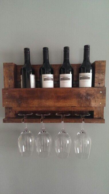 Pallet Wine Rack Display