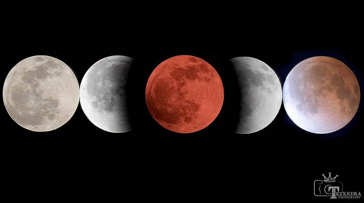 And there was blood moon chronology