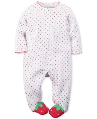 Carter's Baby Girls' Strawberry Coverall