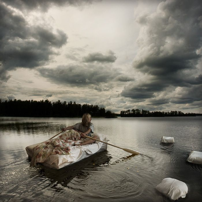 wet dreams on open waters, Erik Johansson. http://erikjohanssonphoto.com/
