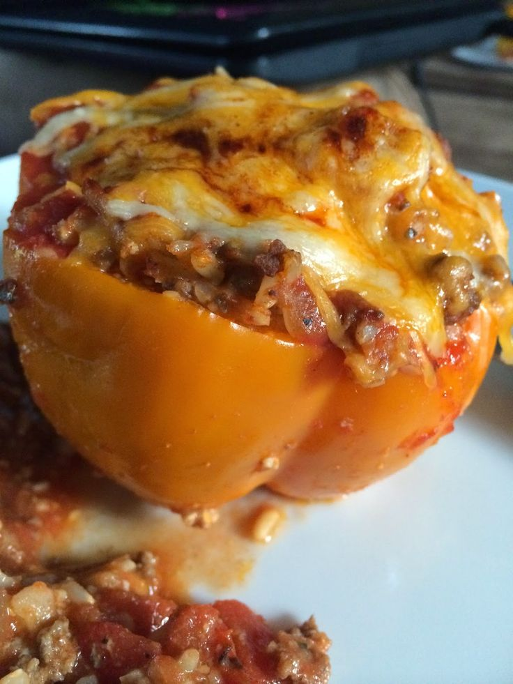 Honeybee Homemaker: Stuffed Bell Peppers