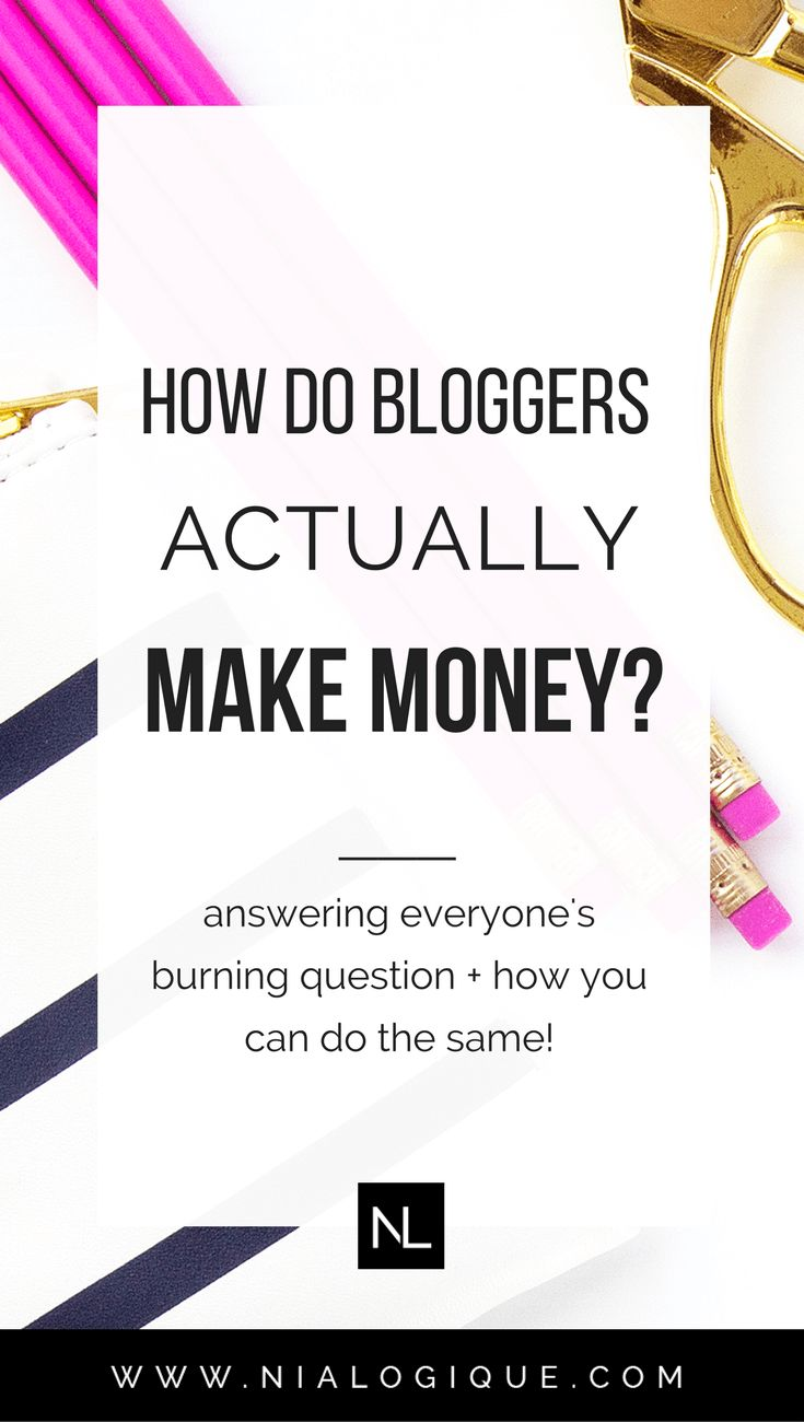 How Do Bloggers Make Money Online? | Click through to learn the different ways a #blogger can earn money through their #blog and how you can do the same! | #bloggingtips #makemoneyonline #collegetips
