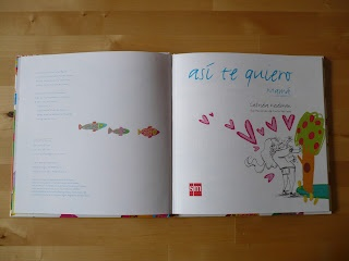 así te quiero  texto: gabriela keselman  ilustraciones: lucía serrano  diseño y coordinación gráfica: felipe samper