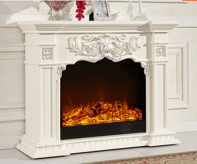 cheap electric fireplace with mantel