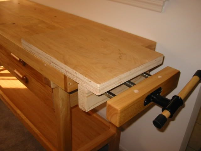 Modified Harbor Freight Work Bench For Quick Exchange And