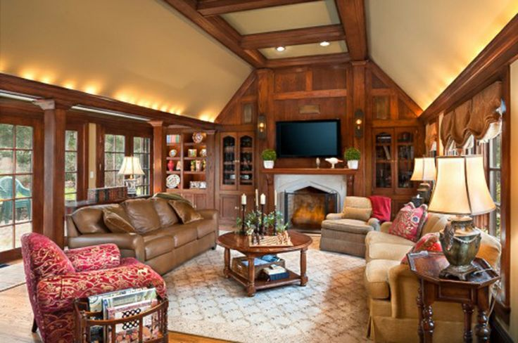 Tudor Interior Design   Tudor Style Home Interior Design Ideas ...