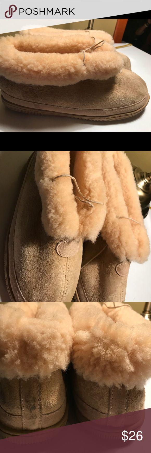 Winter ❄️ Genuine Australian Sheepskin Slippers 11 Excellent Condition UNISEX Slippers M 11- L12 Australian Sheepskin Shoes Loafers & Slip-Ons