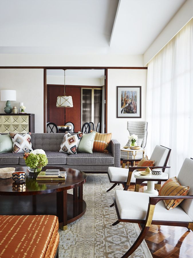 A marvelous living room idea design by Greg Natale. Check out our blog for more inspirations! #designinspiration #designhouse #livingroomideas #livingroomdecoration #curateddesign #furnituredesign #gregnatale