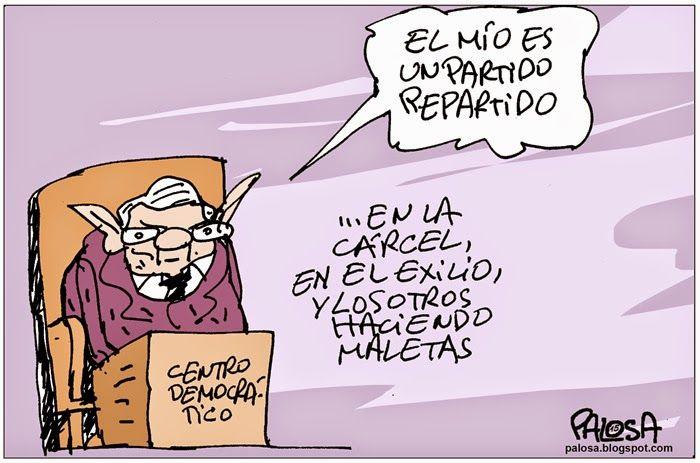 PALOSA - Caricatura Editorial: ALVARO URIBE Publicado 1 de febrero de 2015