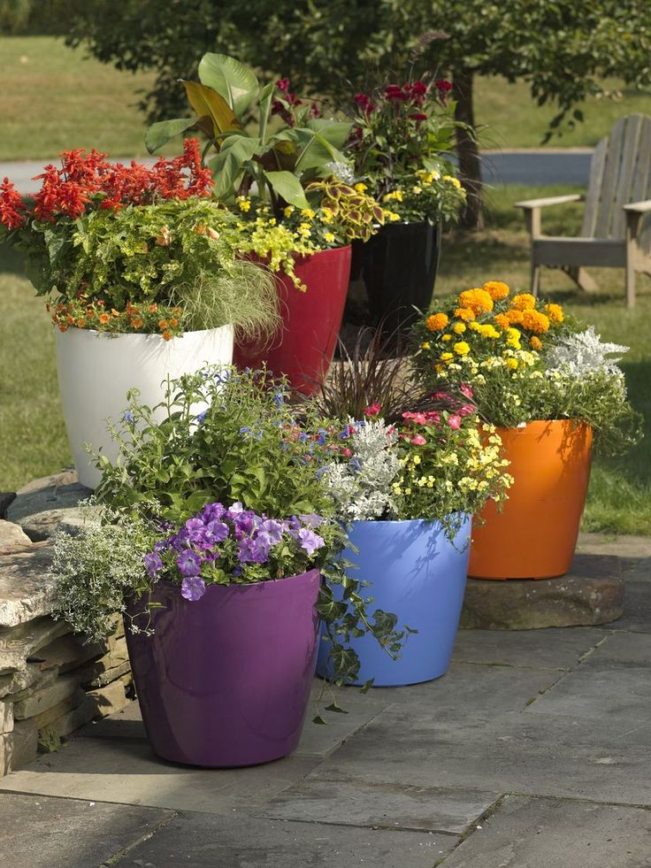 Exceptional Larger Easy Roller Self Watering Flower Pots | Buy From Gardeneru0027s Supply