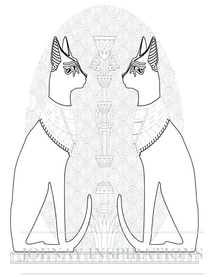 Ancient Egypt Coloring Sheets Egyptian Coloring Pages Idea ...