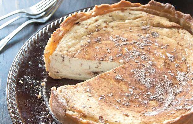 Sicilian Sweet Ricotta Pie, Italian food, italian culture, italian heritage, italian american, italian news, italian traditions