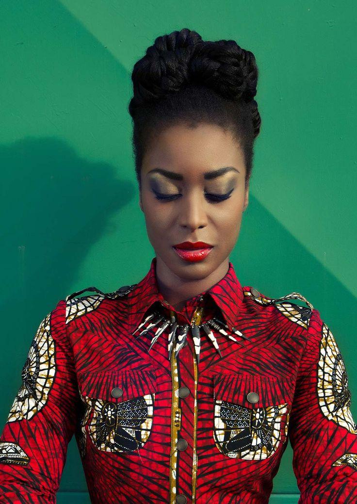 """Tanzania Dress red fan"" www.lenahoschek.com"